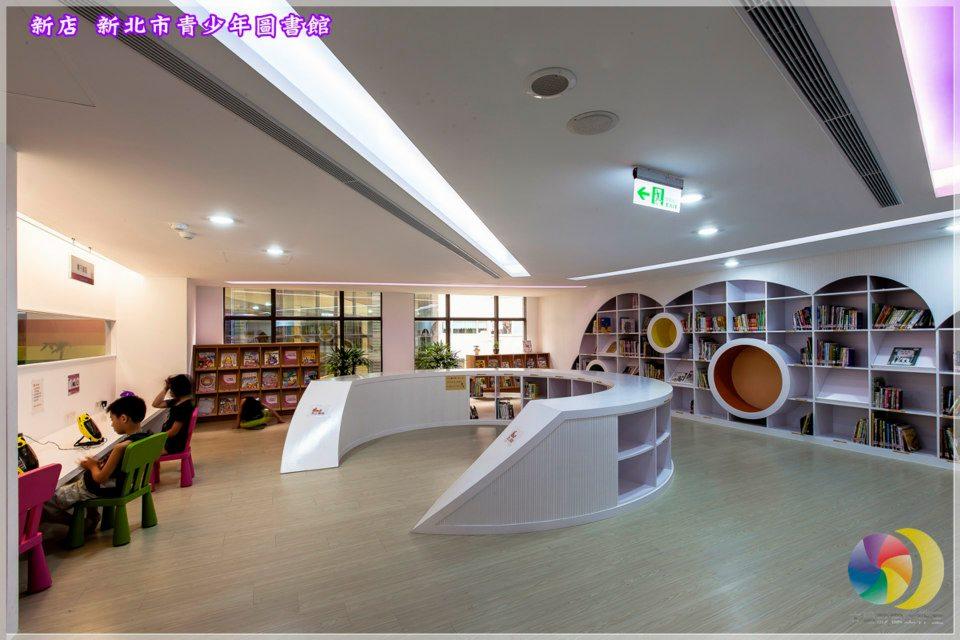 四樓親子共讀區:親子共讀區、兒童書庫區